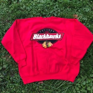 Vintage Chicago BlackHawks NHL Crewneck